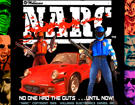 Narc Title Screen